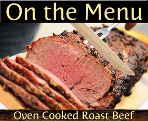 Roast Beef Buffet