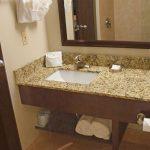 Executive King Bathroom Granite Counter