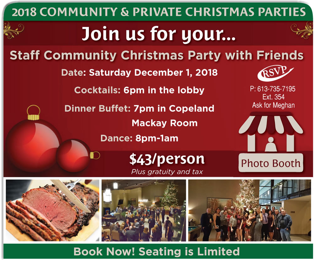 Christmas Business Party in Pembroke