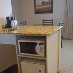 Executive Queen Suite Microwave, Mini Fridge & Coffee Maker
