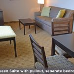 Executive Queen Suite Sitting & Dining Area