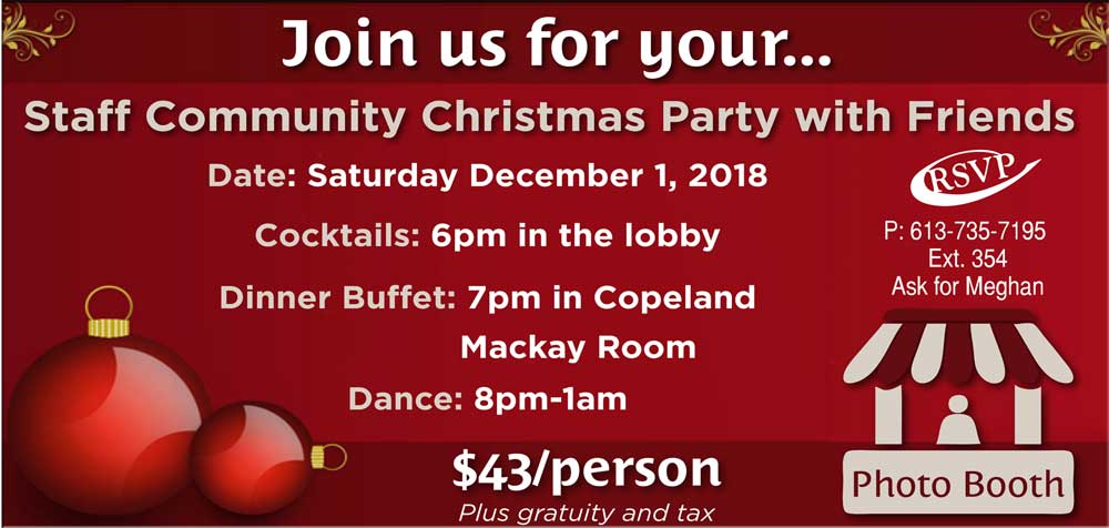 Community & Private Staff Christmas Parties