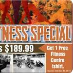 Your Fall Fitness Special- Exp Oct. 31, 2018