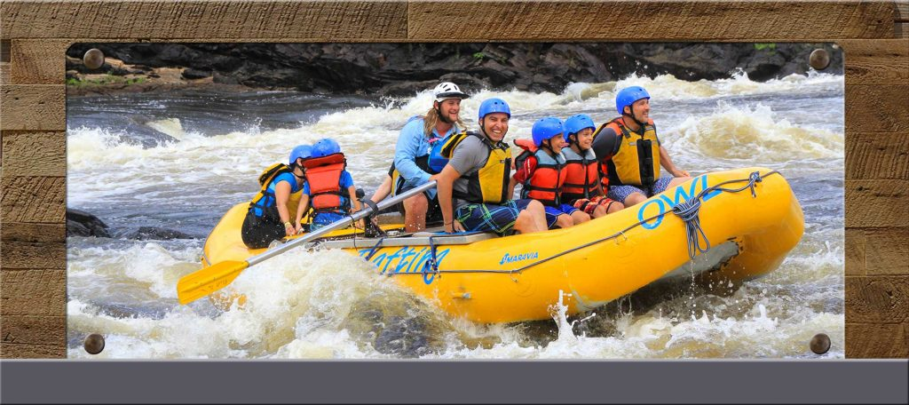 Book Your Family or Adventure Rafting Hotel Package