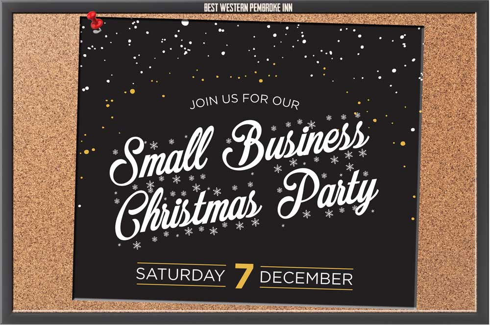 Book your staff Christmas party