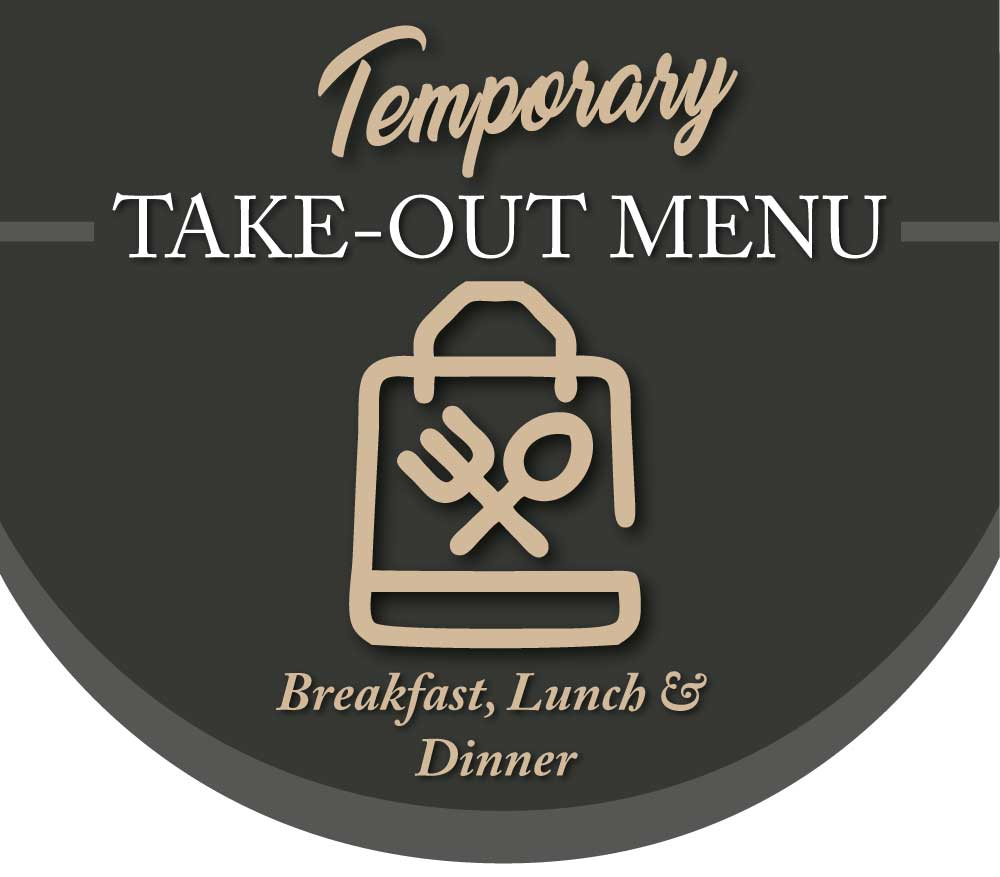 Westwinds Temporary Take-Out Menu