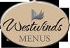 Westwinds Menus