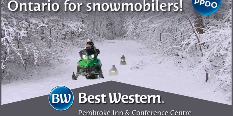 Banner: The best hotel package in Ontario for snowmobilers!