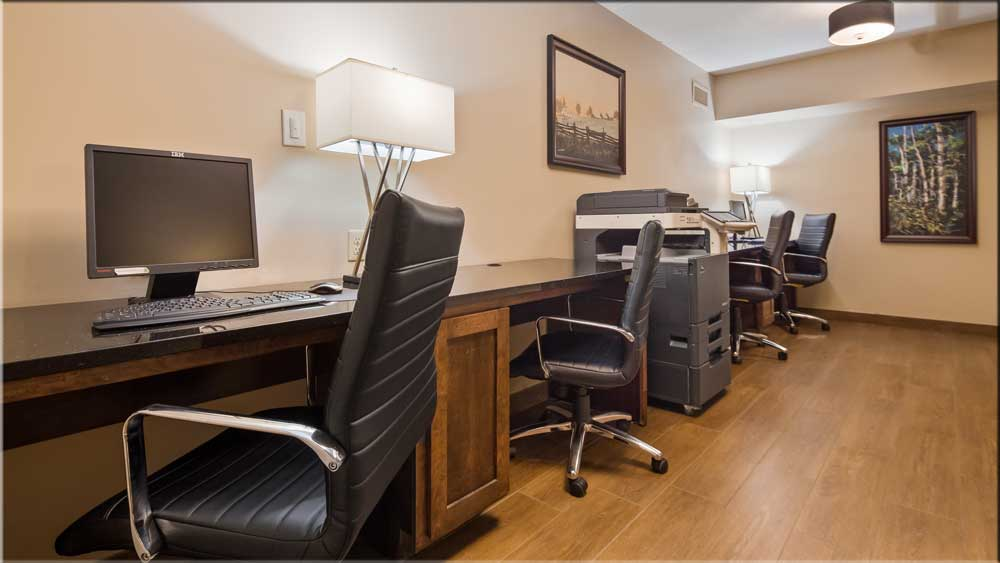 Complimentary Business Center and Services