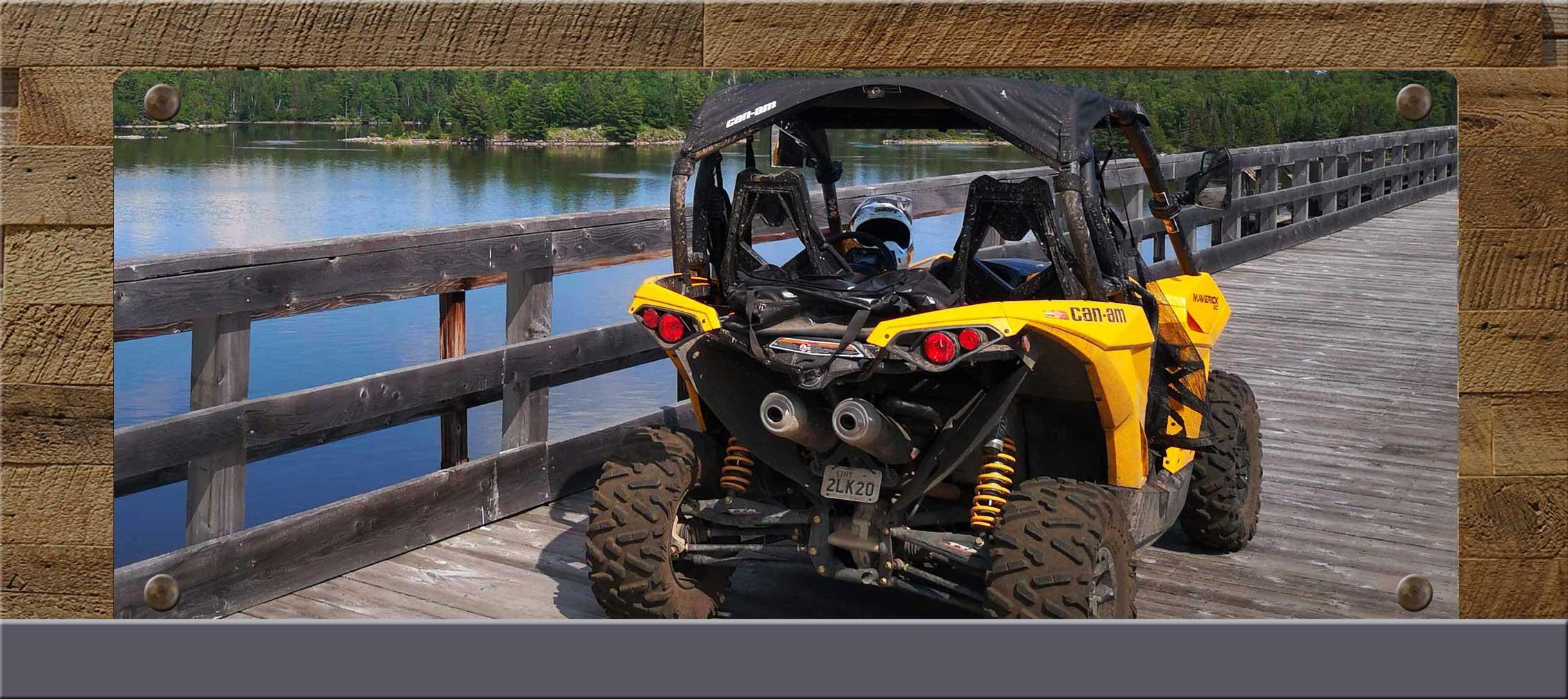 ATVing in Pembroke