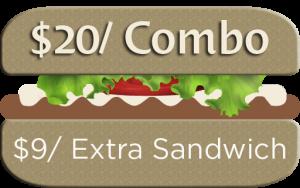 Deluxe Sandwich Combo