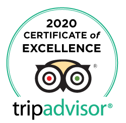 Trip-Advisor Certificate of Excellence