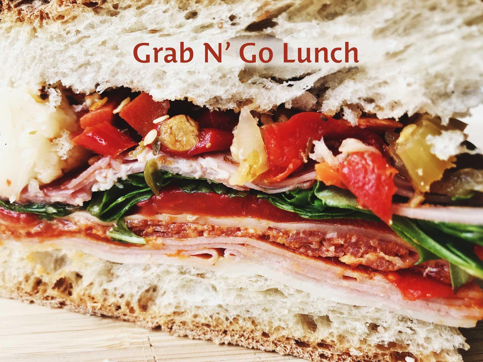 Order Grab N' Go Lunch