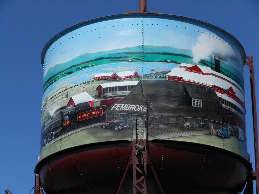 Pembroke water tower