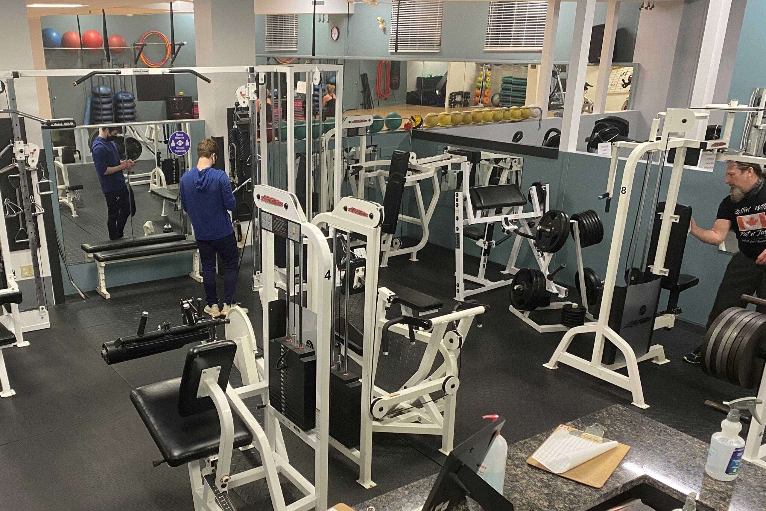 Complimentary Fitness Facilities